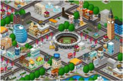 Olympic Games City, London 2012 Social Game